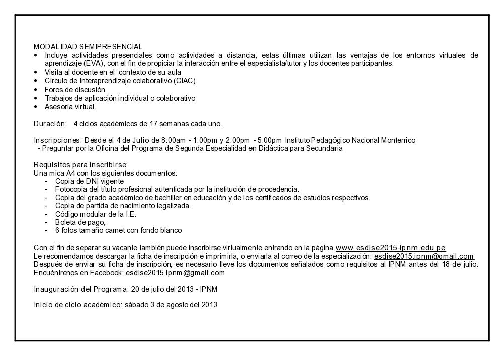 Resultados Del Examen Docente 2014 De La Ugel N 08 De