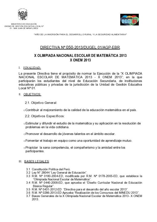 directiva x onem 2013_1