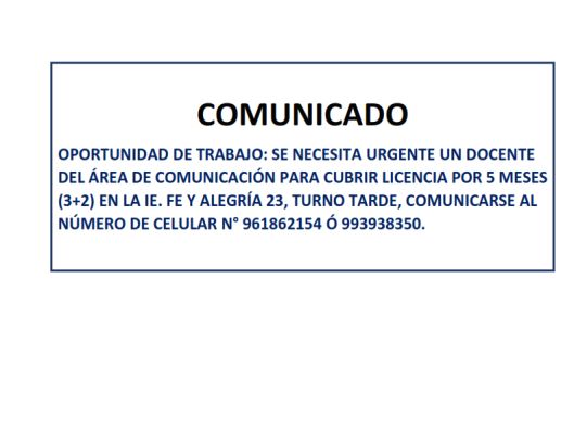 COMUNICADO 07-07-2017_001