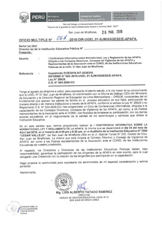 I CONFERENCIA CAPACITACION APAFA 2018_001