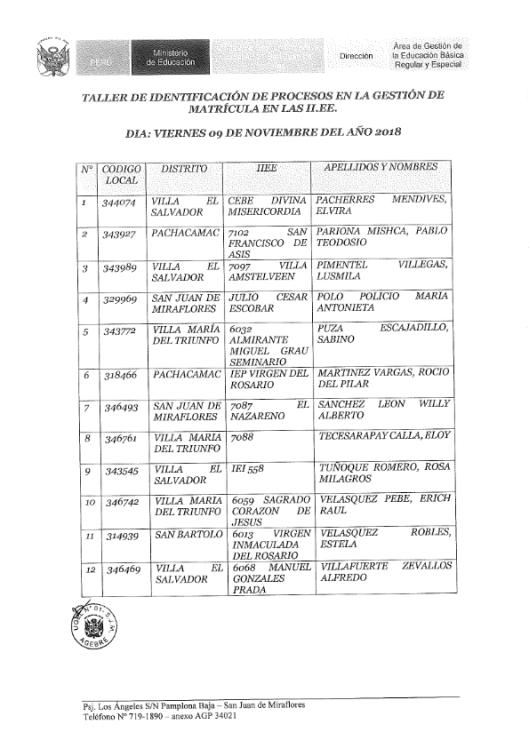 OFICIO 273 TALLERES DE PROCESO 2018_004
