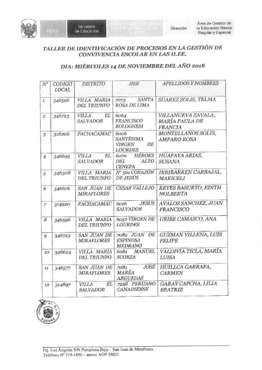 OFICIO 273 TALLERES DE PROCESO 2018_007